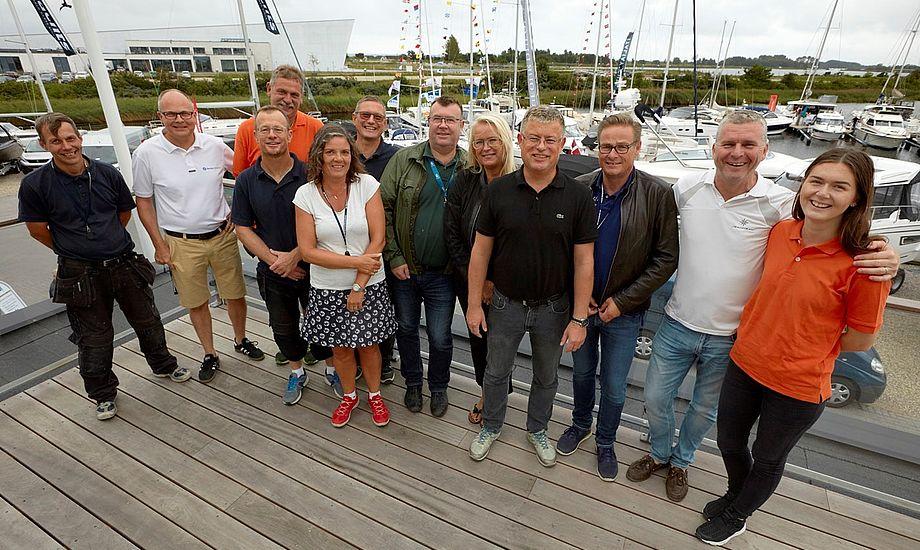 Her er de 15 glade mennesker fra Team Tempo, der har knoklet i højt tempo de sidste 14 dage for at give de besøgende en fantastisk oplevelse.