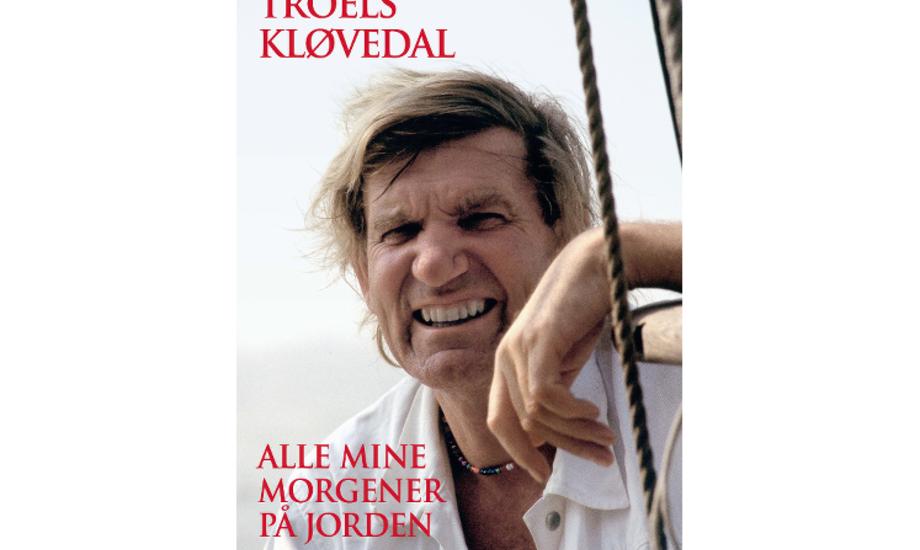 Alle mine morgener på jorden er Troels Kløvedals 18. bog. Foto: PR-foto