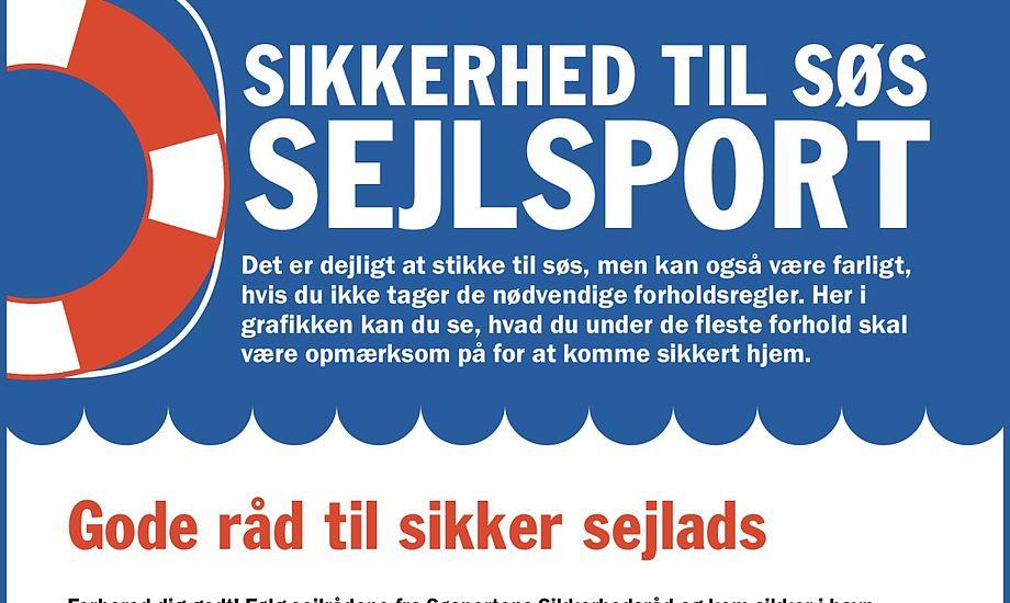 Grafikken vrimler med gode råd til sejlerglade danskere. Grafik: Stena Line