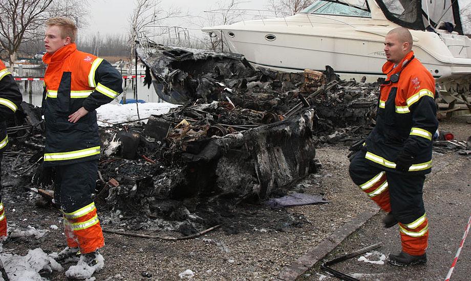 Tidligere brand i Hundige. Arkivfoto: Troels Lykke