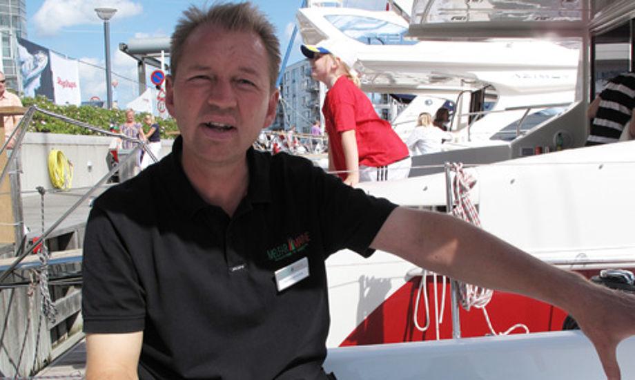 Flemming Ancher på T-Yachts i Hellerup