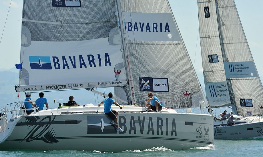 Bavaria 40 Sport bruges tillige i World Matchracing Tour i Sydtyskland.