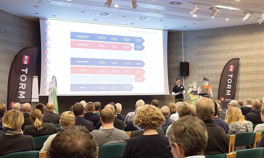 Sidste års 203 deltagere er rundet ved årets klubkonference, hvor 210 i øjeblikket har meldt deres ankomst. Foto: Flemming Ø. Pedersen / Dansk Sejlunion