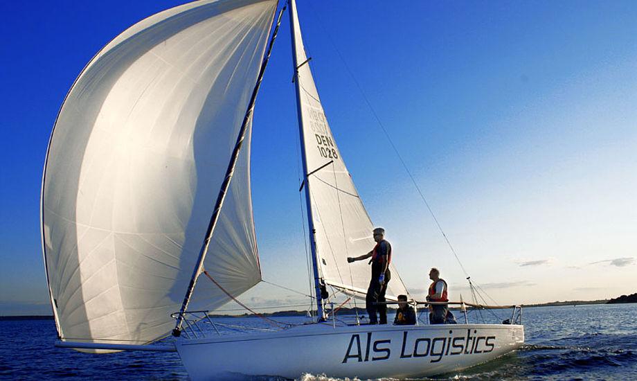 J/80eren er en båd uden pendling, luv kæntringer den slags, siger formand Jens Harsaae fra dansk J/80 klub.