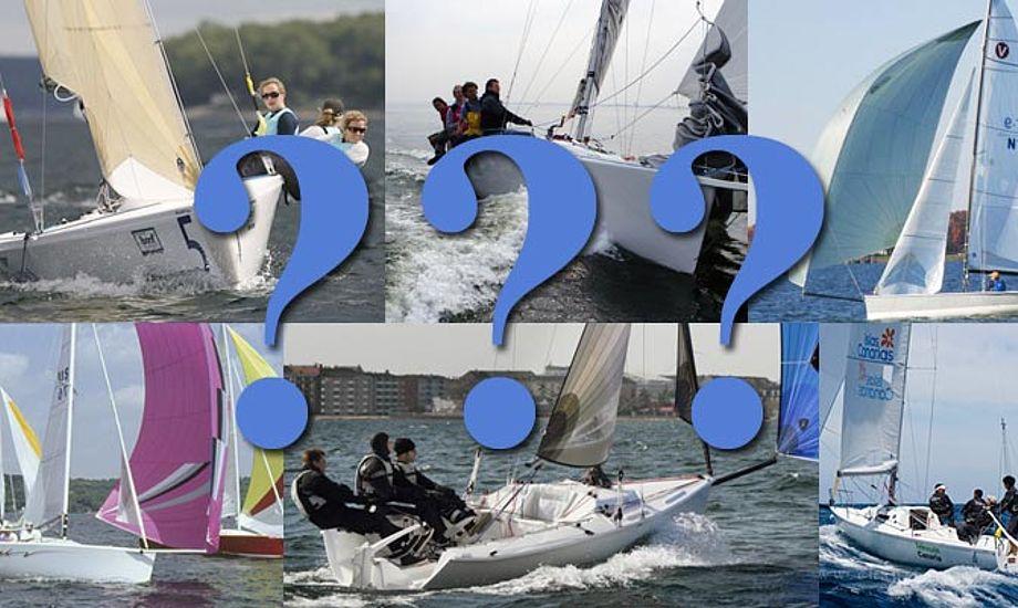 Markedet bliver oversvømmet med sportsbåde. Det er uoverskueligt at finde rundt i. Collage: katrine Bertelsen
