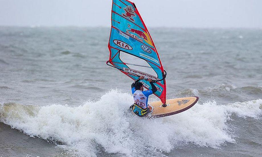 Philip Köster, vinderen af dette års World Cup i Klitmøller. Foto: Cold Hawaii