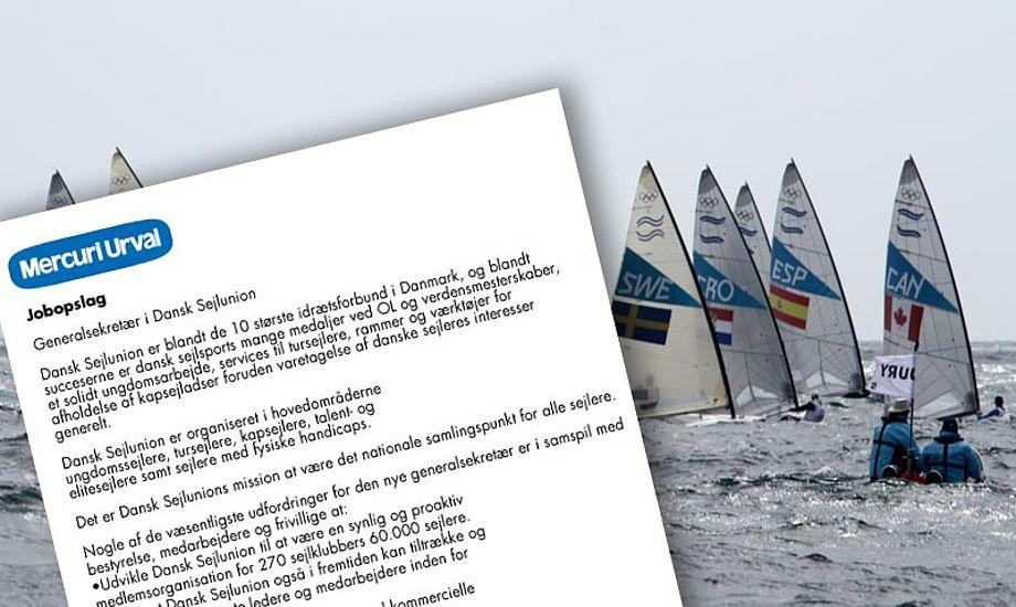Hvem skal afløse Dan Ibsen, som generalsekretær i Dansk Sejlunion? Foto: Troels Lykke