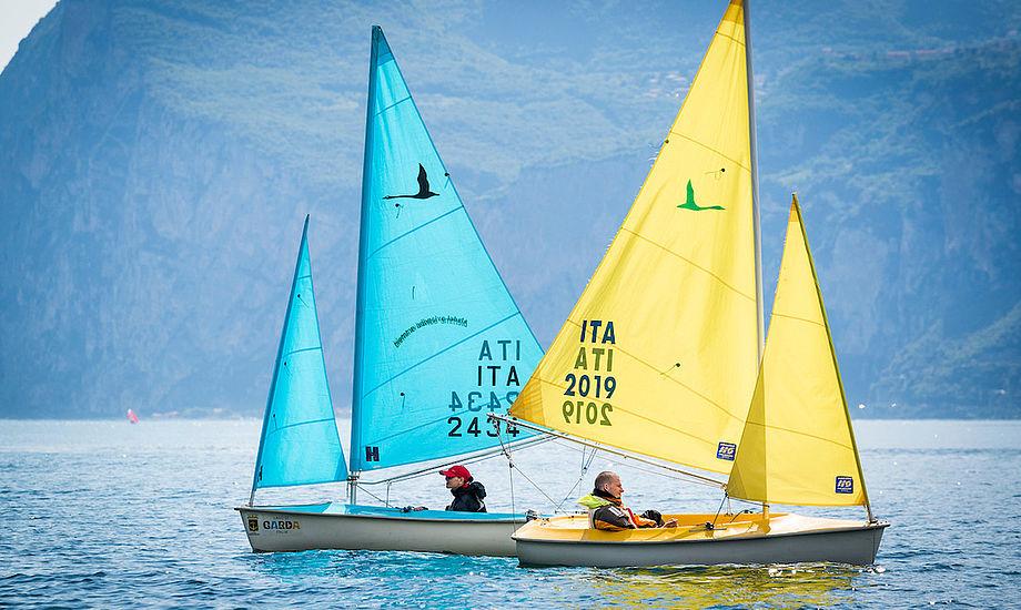 De paralympiske sejlere får måske ikke lov at komme på vandet i Paris i 2024. Foto: World Sailing