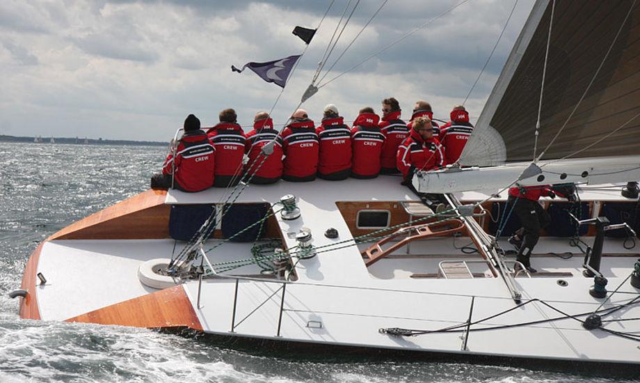 Broskraberen.dk fra Bogense sejler med i denne weekend i Kertemindes Big Boat Challenge. Foto: Troels Lykke