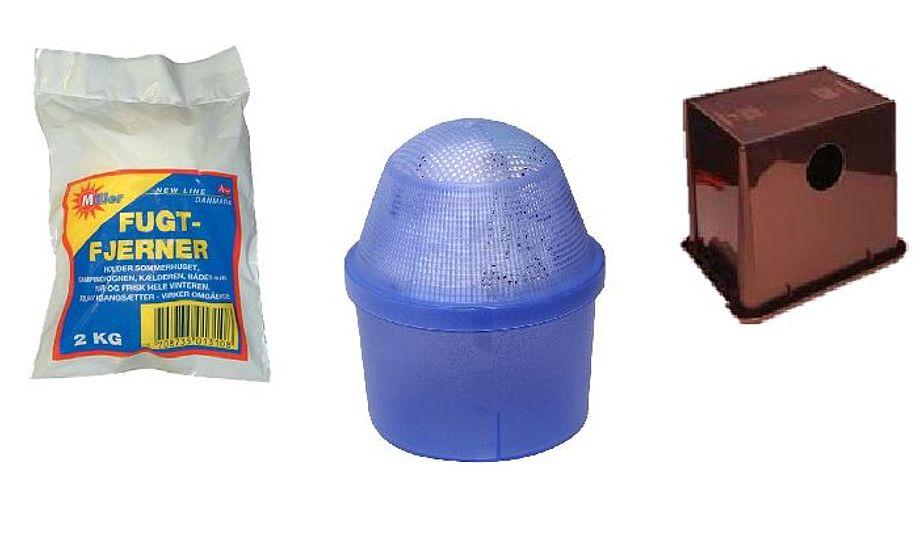 Disse tre produkter kan holde fugten nede.