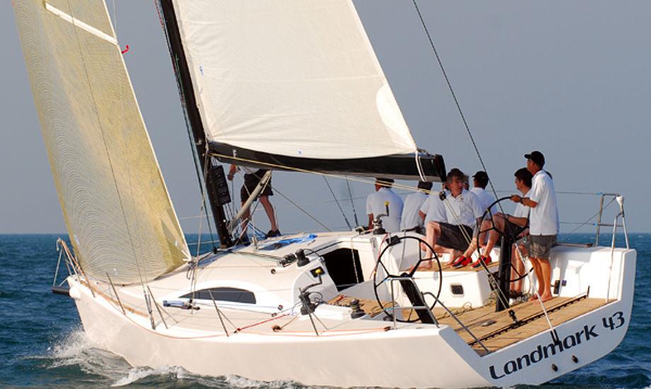 Det er på en Landmark 43, at Morten Henriksen skal finde vej i Big Boat Challenge.