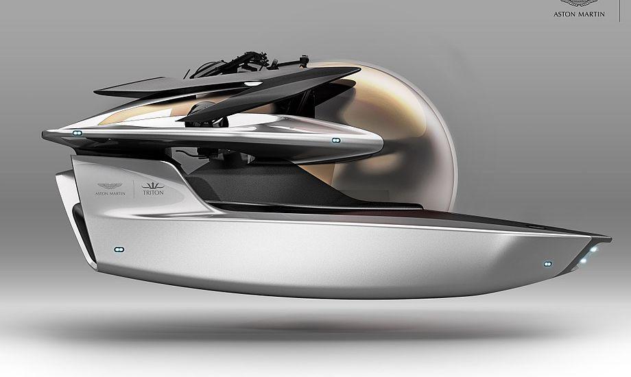 Ubåden henvender sig til rige eventyrer verden over, der drømmer om at udforske livet under havoverfladen. Foto: PR-foto
