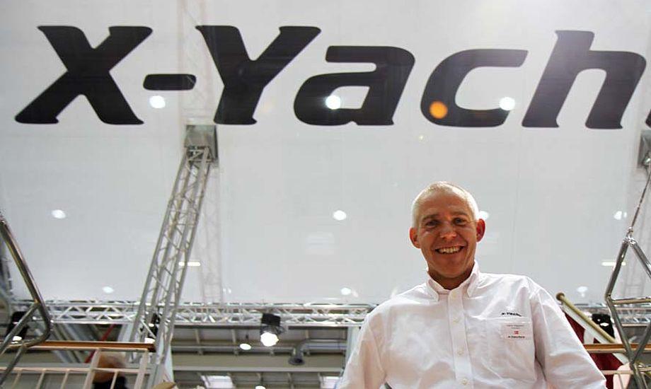 49-årige Hans Viggard fra Sønderborg har selv en X-332, nu køber han en Xp 44. Foto: Troels Lykke