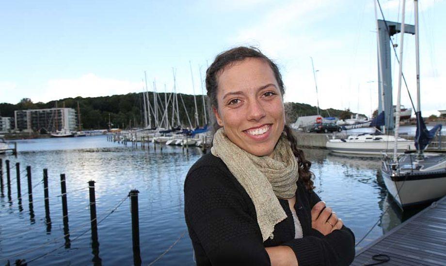49er FX-sejlerne Ida Marie Baad er med på det udvalgte Team Danmark talenthold. Foto: Troels Lykke