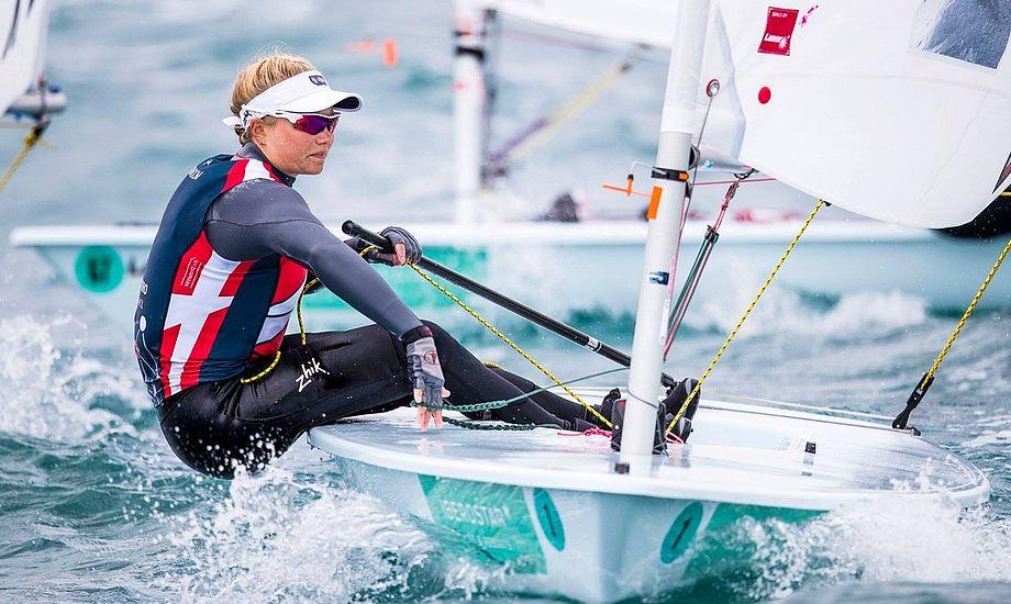 Der venter en spændende duel mellem Anne-Marie Rindom og OL-vinder Marit Bouwmeester. Foto: Sailing Energy