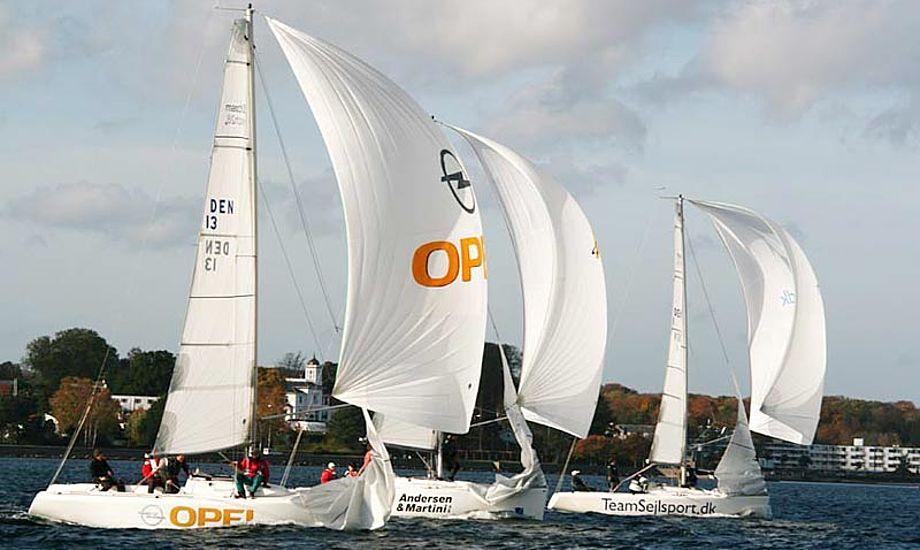 Igen i år sejles der i Match28. Foto: Claus Berthelsen