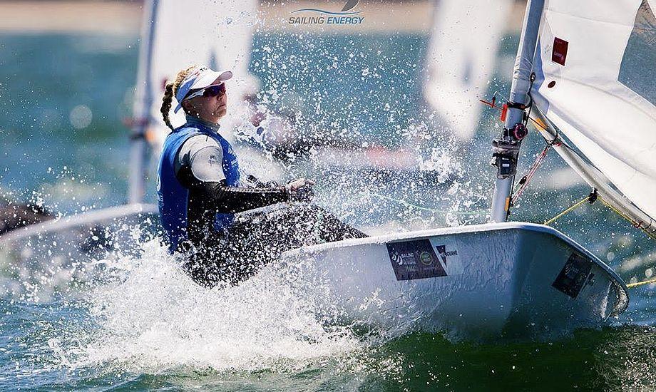Anne-Marie Rindom vandt årets sidste Medal Race i Laser Radial. Foto: Horsens til OL's Facebookside
