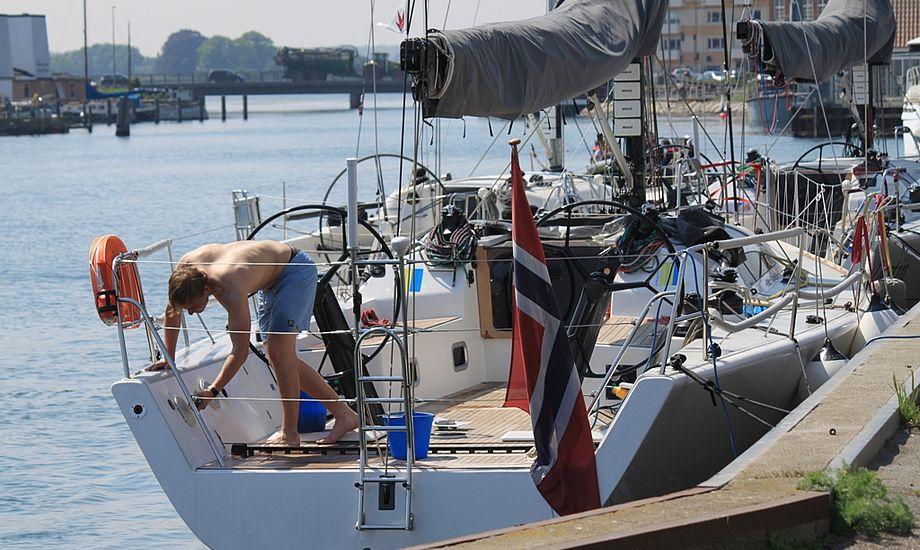 BBC melder sig ud af Big Boat Series. Der er for mange stævner til at fylde dem tilfredsstillende ud, siger BBC. Arkivfoto