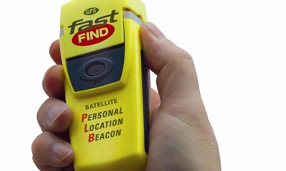 Fast Find har en simpel en-knap-aktivering, trykker du på alarmen så sendes din GPS postion til SOK. Fast Find har også en kraftigt SOS-Flash funktion til nær-signalering.