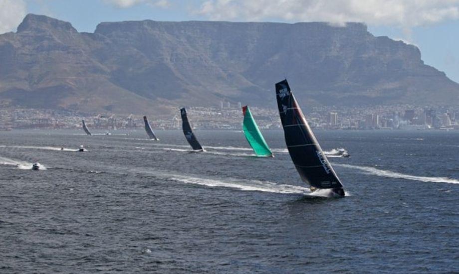 Start i Cape Town. Foto: Ian Roman, Volvo Ocean Race