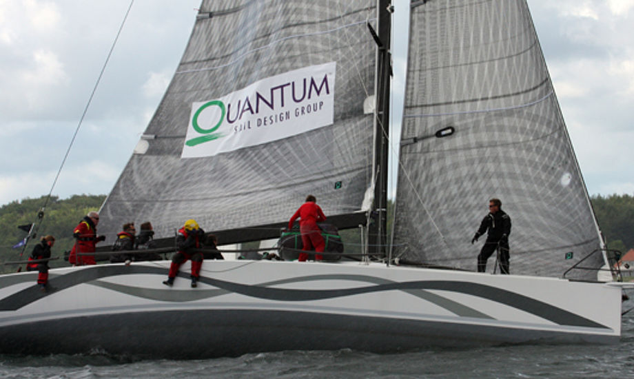 Quantum Sails' Jan Hansen har temmelig godt styr på målereglerne, fortæller selv hans konkurrenter. Foto: Troels Lykke