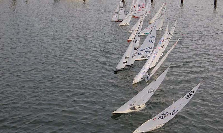 Tæt sejlads i Horbnæk med Seawind. Fotos: Anders Liebst