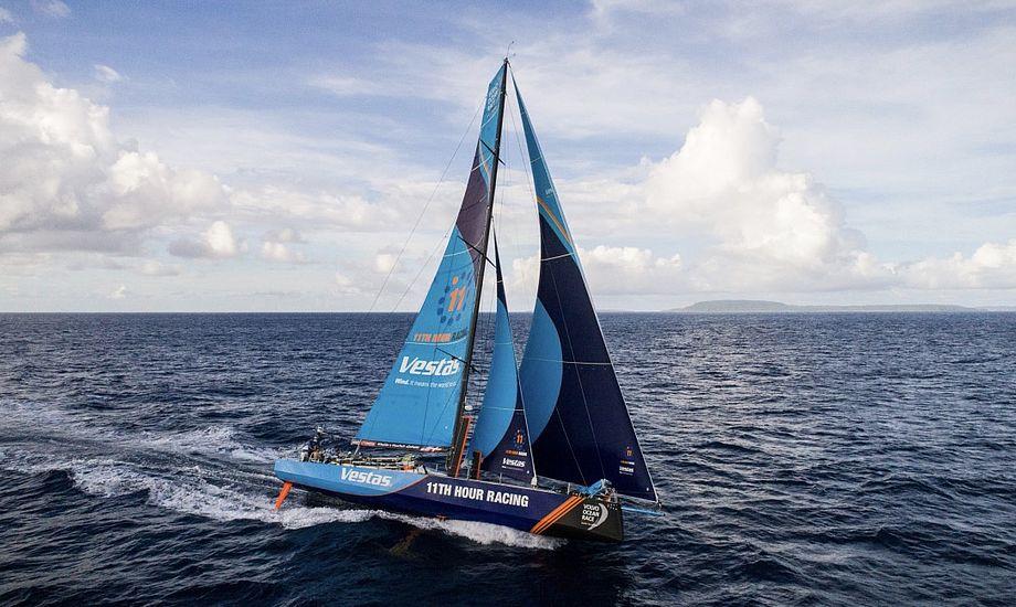 Danske Jena Mai Hansen stod af Vestas-båden i Melbourne, men er atter ombord på det næste ben. Foto: Amory Ross / Volvo Ocean Race