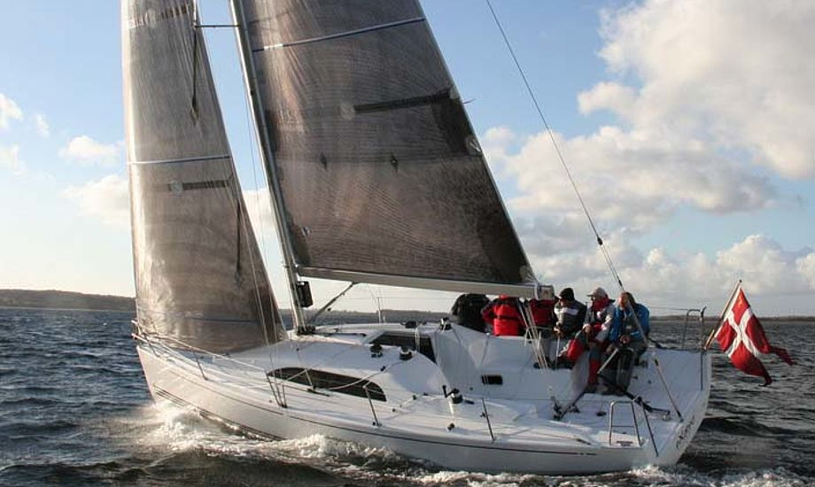Sådan ser den nye Xp33 ud til søs. Foto: X-Yachts