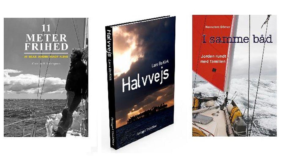 Tre bøger, der kan skabe hygge på en blæsende vinteraften.