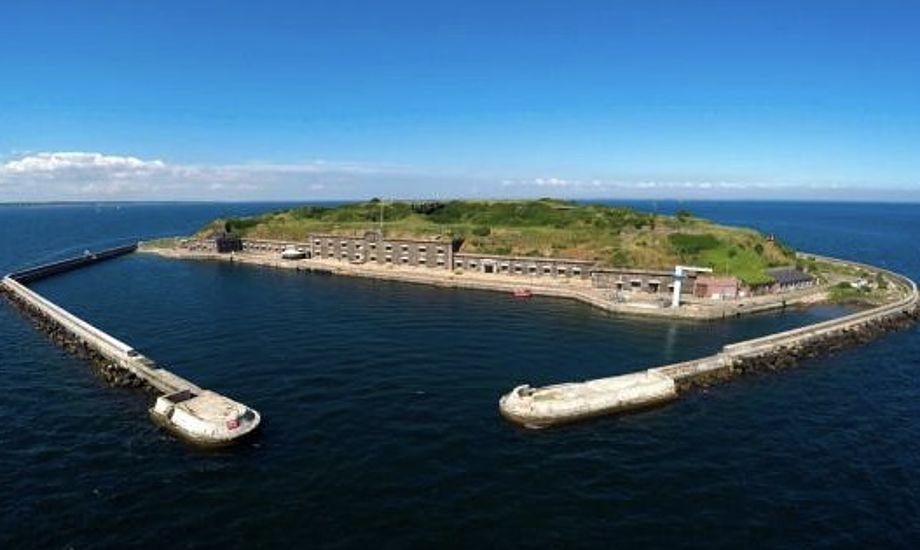 Middelgrundsfortet skal fremover gå under navnet 'Ungdomsøen', har de nye ejere bestemt. Foto: Nordeafonden