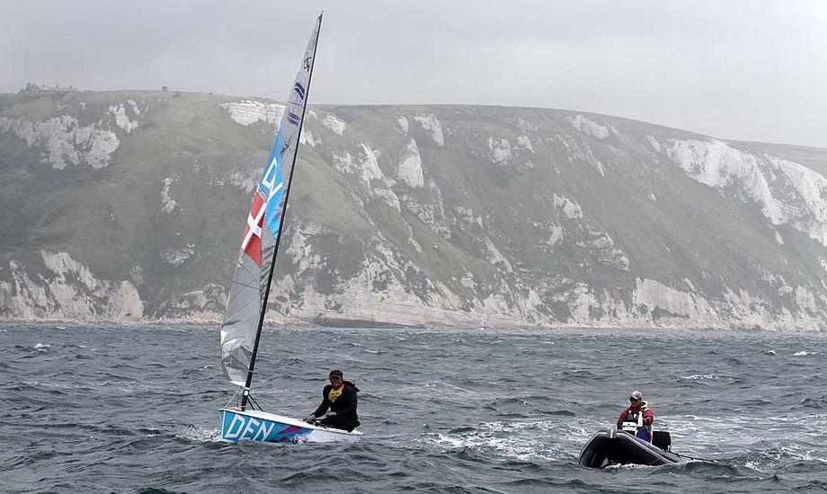 De to på billedet havde et tæt, struktureret samarbejde ved OL og det gav som bekendt sølv. Foto: Troels Lykke