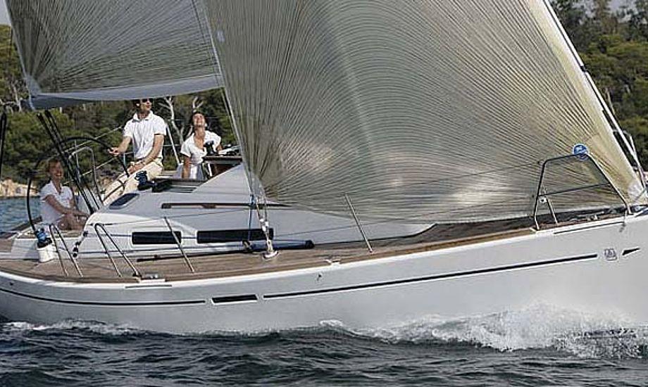 Dufour 34 fra det franske værft, der kæmper med finanserne.