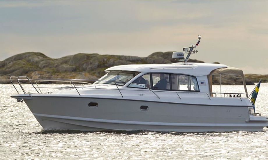 Nimbus 365 coupe blev kåret som European Power Boat of the year i januar 2012. Foto: nimbus.se