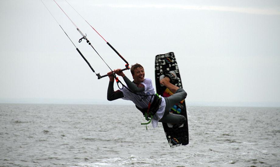 Flere end 250 surfere var i weekenden samlet i Hvide Sande