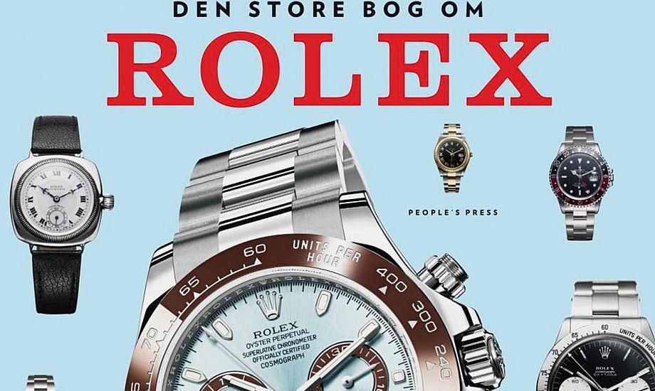 Bogen giver også gode råd til, hvordan du undgår at blive taget ved næsen, hvis du skal købe et brugt Rolex, forklarer sejler og forfatter Jens Høy til minbaad.dk.