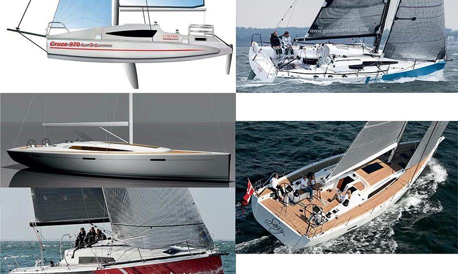 Det er dyre, store og lækre både, der stiller op i Performance Cruiser-klassen.