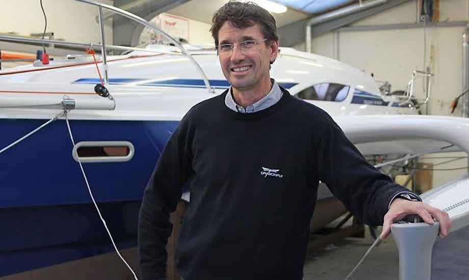 Jens Quorning glæder sig meget til Fredericia Boat Show og til at præsentere den nye Dragonfly 25, som passer rigtig godt til mange danske pengepunge.