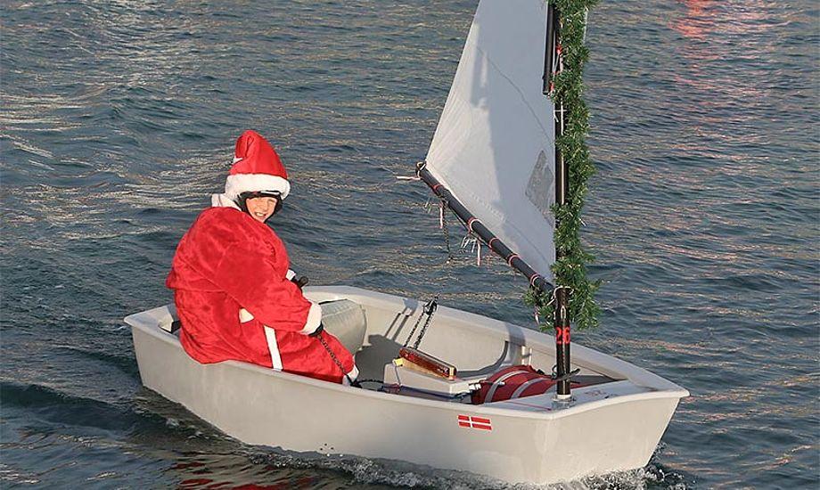 Der er præmie til bedste juleudklædning. Foto fra 2013 af Per Heegaard