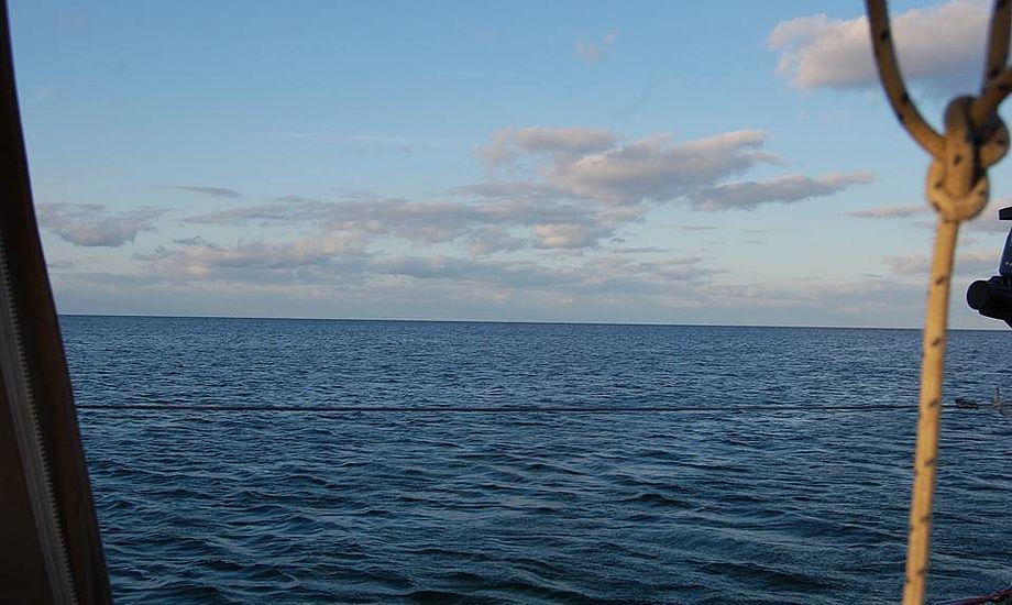 Denne udsigt bliver jeg aldrig træt af, fortæller Malene Wilken, der sejler på Vindö 40 fra Holbæk. Foto: Wilken