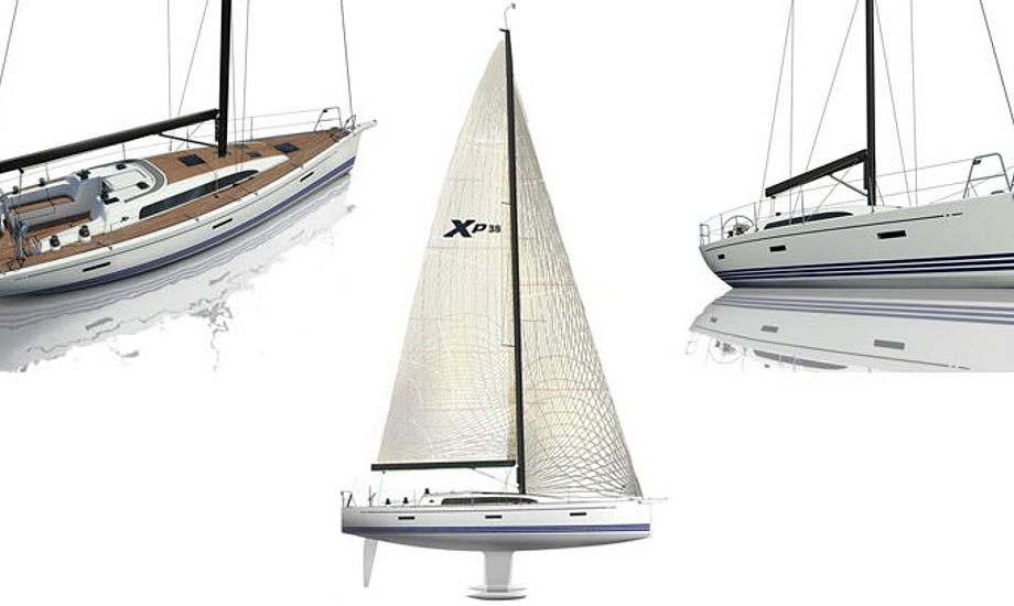 X-yachts har brugt deres epoxy E-Glass vacuum proces for at give maksimal styrke og holdbarhed.