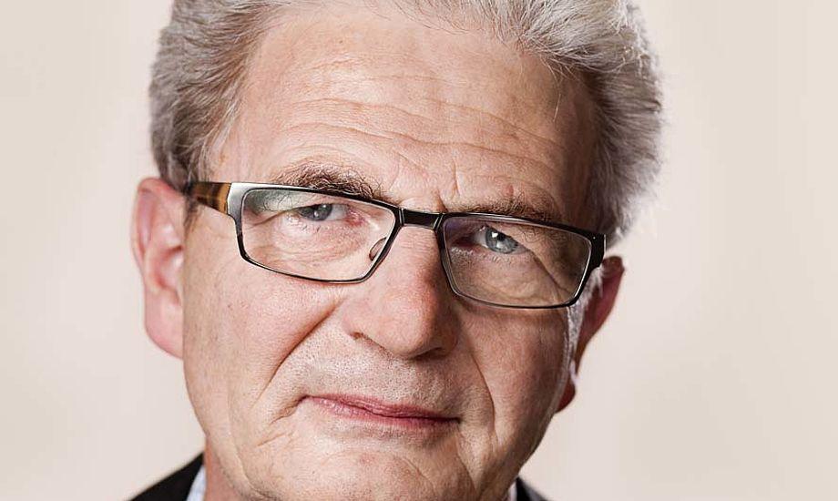 Den drevne skatteminister Holger K. Nielsen skal forklare hvorfor at han kun vil plukke sejlerne og ikke erhvervstrafikken. Foto: Folketinget.dk