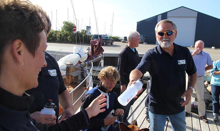 Fra KIRC i 2013- Det er Carsten Breuning til højre med de kække solbriller. Foto: Ole Thrane, Nordfynsfoto