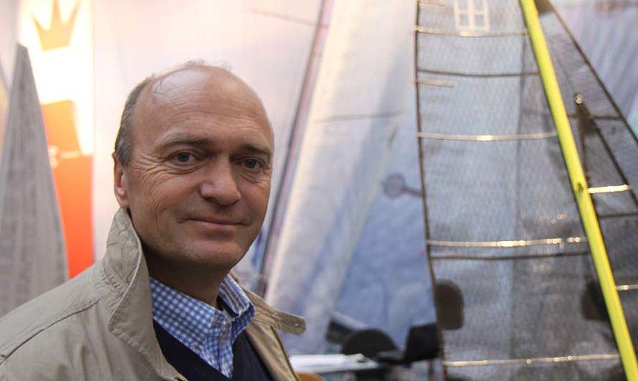 Jesper Bank tror på bedre tal i næste regnskabsperiode. Foto: Troels Lykke