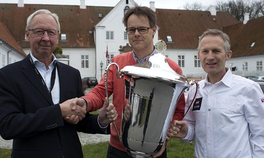 Sidste års prisvinder Claus Møller Christensen fra Skælskør Amatør-Sejlklub. Foto: Dansk Sejlunion