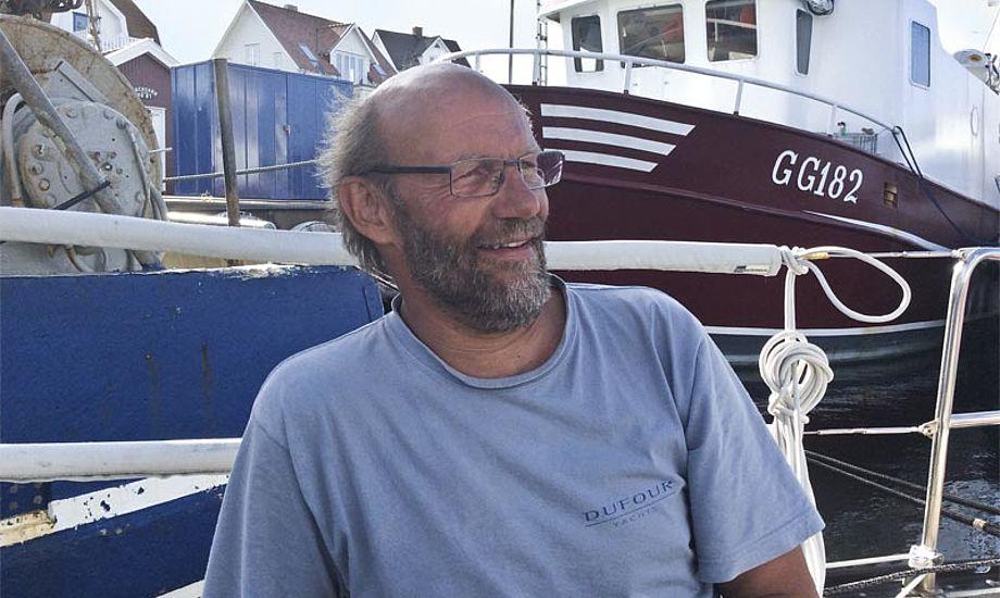 Ovenpå Sjælland Rundt er Erik taget på sejlerferie, bl.a for at besøge gamle fiskervenner i Sverige. Foto: Kirsten Rambøll