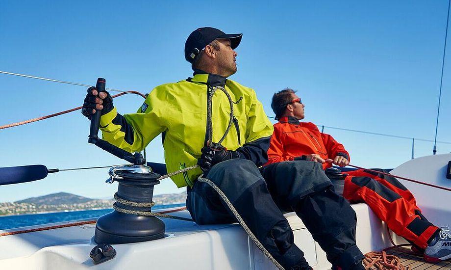 Det nye Gore-Tex sejlertøj fra Musto har 20 procent mere åndbarhed.