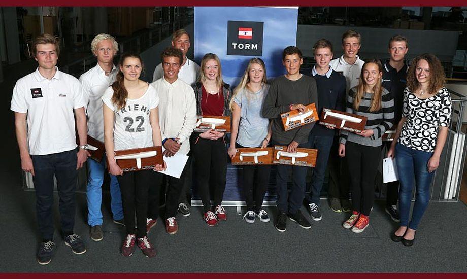 TORM-vindere 2013. Foto: Per Heegaard