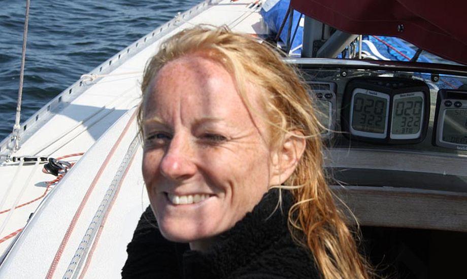 Line Markert sejler Ylva og CB66. Foto: Hellerup Sejlklub