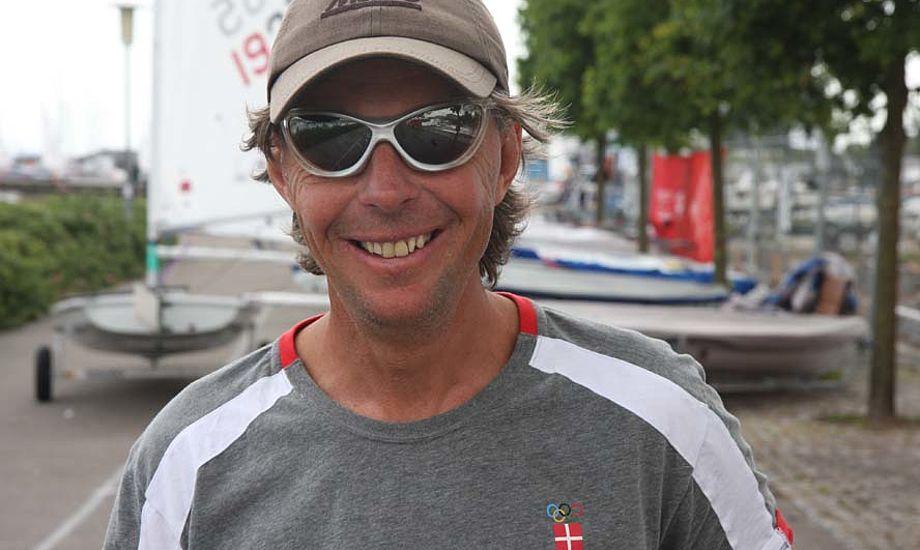 Don Nordqvist ses her til EM i Laser Radial i 2009. Minbaad.dk har mødt svenskeren adskillige gange, herunder OL i 2008, en mand der altid har været respekt omkring. Foto: Troels Lykke