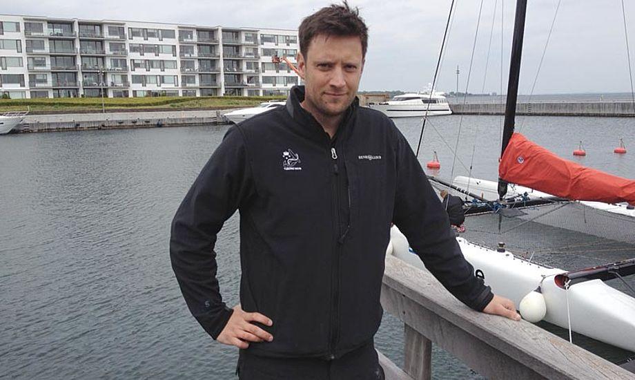 Den nye havnefoged Troels Lignell Bækholm er 32 år, og daglig leder i Tuborg Havn.